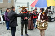 Erffnung der Karneval Saison 2011 auf dem Marktplatz